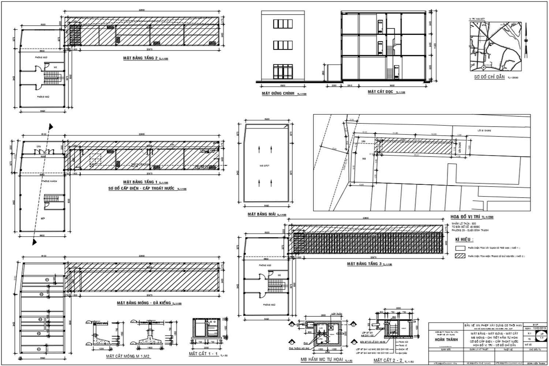 Bản vẽ xin phép xây dựng tại đường Ung Văn Khiêm quận Bình Thạnh.png