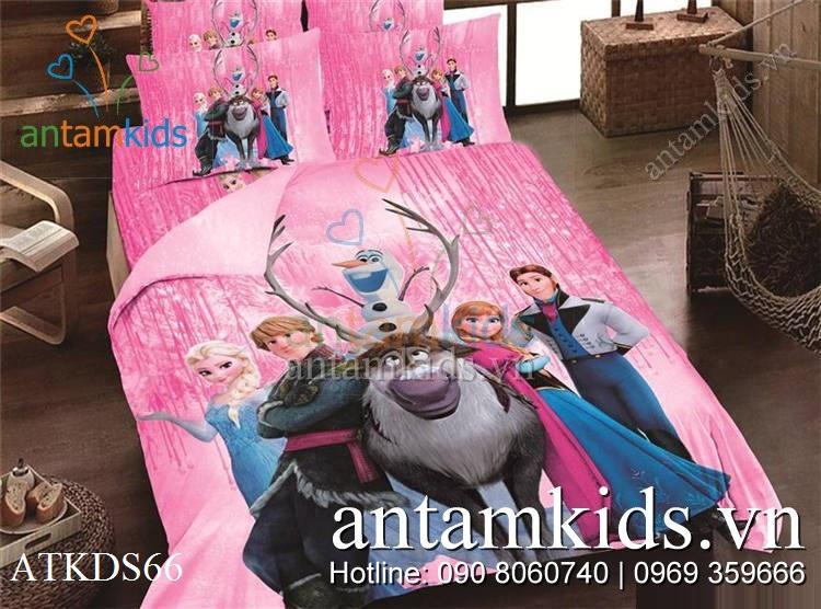 Chan ga goi men drap trai giuong Frozen Anna Elsa cong chua bang gia (11).jpg
