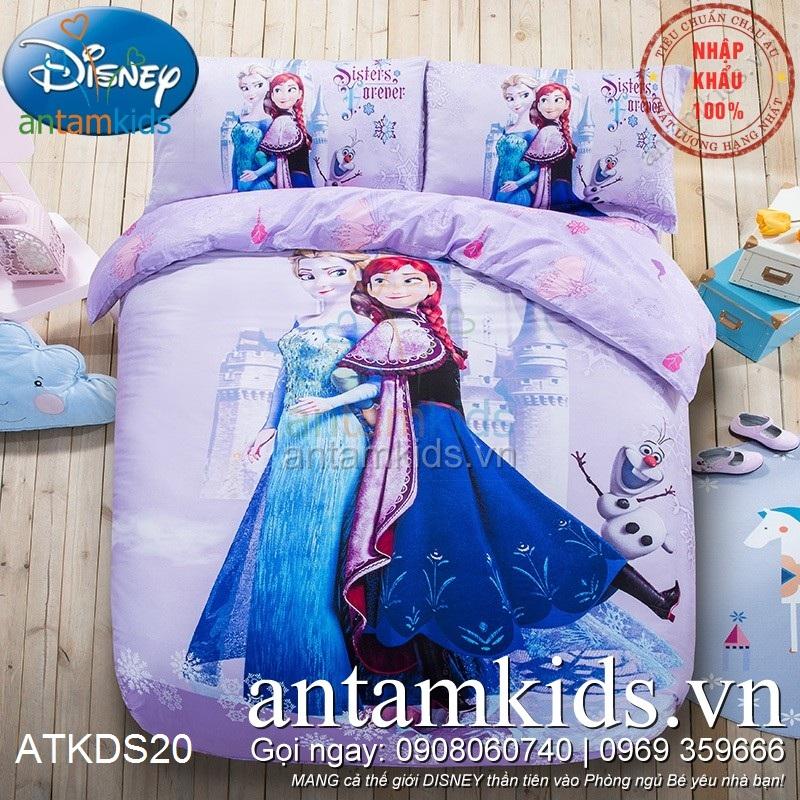 Chan ga goi men drap trai giuong Frozen Anna Elsa cong chua bang gia (3).jpg