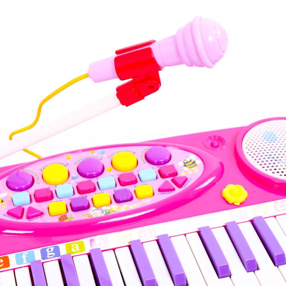 Đàn organ cho bé kèm mic, loại to - 175K-2.JPG