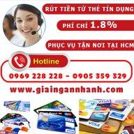 Rút tiền thẻ Tín Dụng HCM